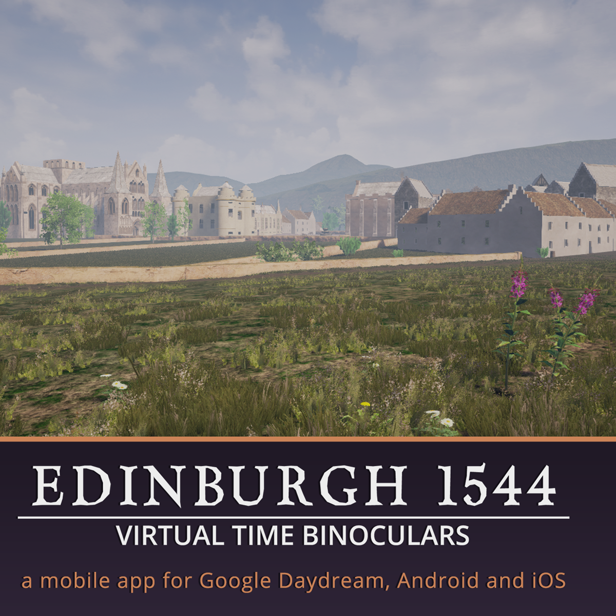 Edinburgh 1544 App - Map